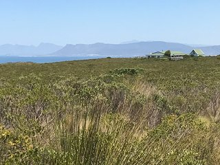 Spacious self catering farm house with spectacular sea and mountain views