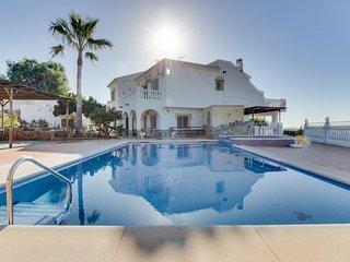 Villa Media Legua, Villa con increíbles Vistas al Mar
