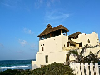MAGI AZUL - CARIBE BEACH HOUSE - Beach Front Moroccan Villa with Gorgeous Views