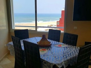 Bright apartment Casa Sea View + WiFi, Casablanca