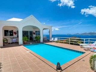 Secluded Caribbean Villa with Spectacular Views, Belmont