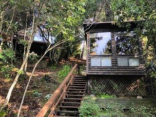 Velouria - Hot Tub, Woodstove, Redwoods.