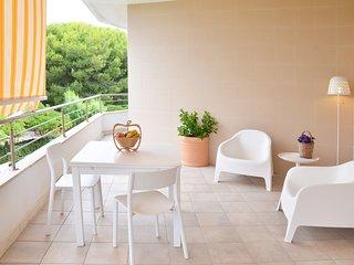 """App. nr. 1 """"Tramontana"""" in Residence sul mare con parcheggio privato, Porto Cesareo"""