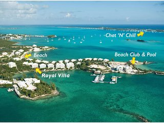 Spectacular Oceanfront Luxury Villa in Great Exuma, George Town