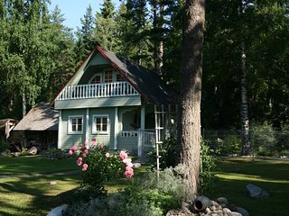 Holiday home for 4 guests at North-Estonia with sandy beach in Lahemaa Nat. Park