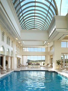 Indoor Pool at the Spa; Open year around