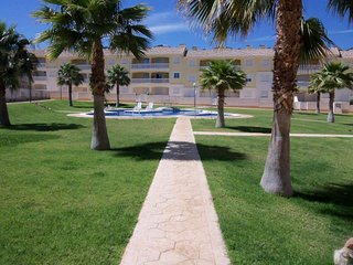 Modern, self contained Townhouse, 'Our Pad', with shared Pool, Cabo Roig