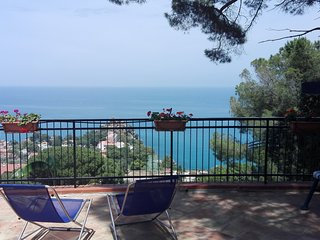 exclusive terrace with seaview