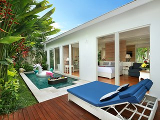 Honeymoon 1 Bedroom Private Pool Villa in Seminyak