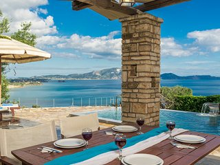 Kymaros Villa Lofos, 3bedr, priv.pool, sea view