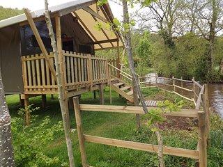 camping de la Rouvre**, Pont-d'Ouilly