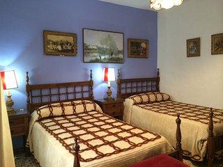 Alojamiento rural Huerto del Frances, Dormitorio Azul