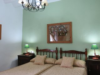 Alojamiento rural Huerto del Frances, Dormitorio Verde