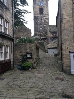 Daisy Lane Book Shop on the Cobbles in Holmfirth