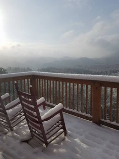 White Christmas Morning taken by a guest