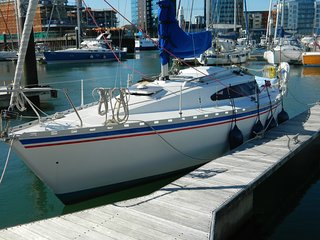 Yacht in Ocean Village + parking, Southampton