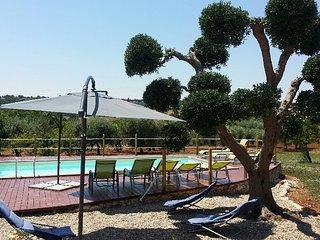 Hansel et Gretel : Trulli vip avec piscine privée/ Wifi/ Machine à laver/ Canal