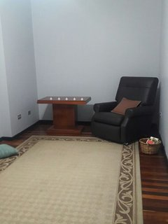 Small lounge area on second floor. To read or relax.
