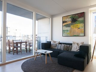 Modern Design Apartment With Ocean View, Copenhague