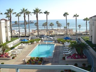 San Miguel IV Oceanside CA Pier Monthly Condo Vacation Rental Oceanfront View