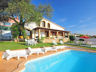 4 bedroom Villa in Tordera, Costa Brava, Spain : ref 2161442
