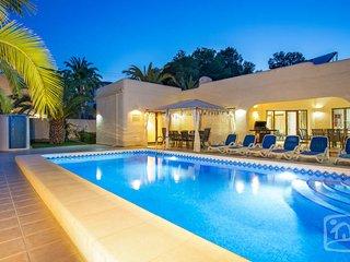 6 bedroom Villa in Moraira, Moraira, Spain : ref 2246584, La Llobella