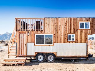 Tiny House in the Mojave Desert/The Peacock