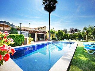 4 bedroom Villa in Pollenca, Mallorca, Mallorca : ref 3362, Illetes
