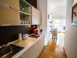 Central Penthouse Apartment near the River, Praga