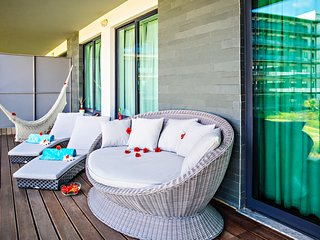 Our relaxing and luxury balcony
