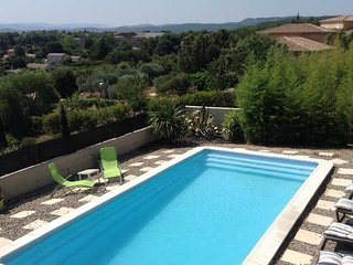 Caux villa rental France with private pool and outstanding views  (Ref: 739)