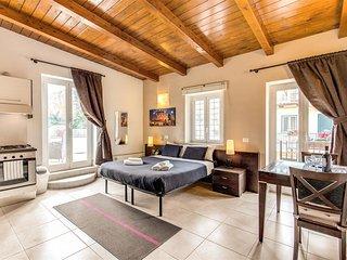 Aurelia Vatican Apartments - Studio with Terrace, Rome