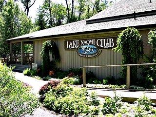 Lake Naomi Vacation Rental with Stream
