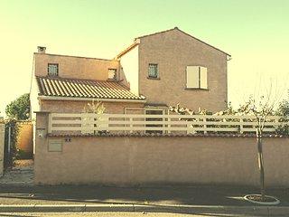 VILLA D'EAUMY 140 m2 au calme à 12 kms de la MER, Nissan-lez-Enserune