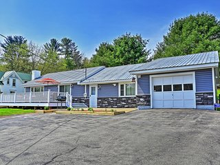 Nice & Quiet 3BR Northville Home on Great Sacandaga Lake w/ Heated Garage - Close to Beach & 35 Miles from Lake George!
