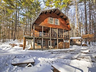 NEW! 'Treehouse' 4BR Madison Cabin-Great Views!