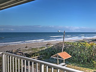 NEW! 1BR Indialantic Condo-Hotel w/ Beach Views!