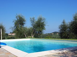Il Camino - flat on olive farm with beautiful views and a pool, Montecastello