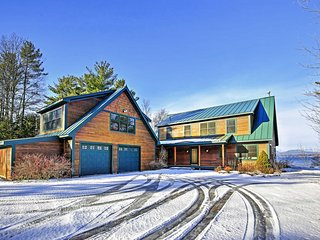 NEW! 4BR Panton House w/Lake Views & Fireplace!
