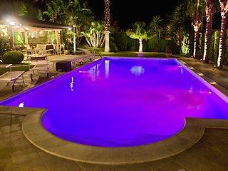 Villa Palme Pool Chromotherapy Wi-Fi Free Garden near Castellammare del Golfo