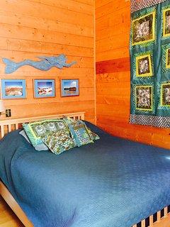 Master bedroom, see small photo below
