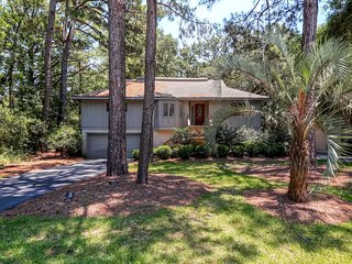 Spectacular 3BR Hilton Head House w/Wifi, Private Patio & Picturesque Landscape Scenery - Coveted Sea Pines Location! Easy Access to Beaches & Attractions!