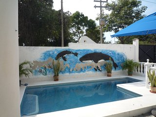 Detached 4 Bed, villa,POOL, at the Beach. slps 8/9, La Cruz de Huanacaxtle