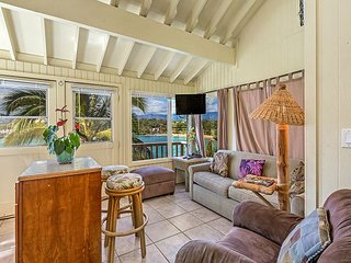 Pali Kai C, Ocean Bluff Studio, Rustic Charm, Kauai Marriott Resort Use, AC