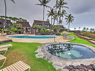 Peaceful Studio on Golf Course! Ka'u Condo w/Private Lanai & Condo Community Pool - Walk to Punalu'u Black Sands Beach, 1/2 Hour from Volcano National Park