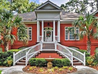 NEW! Tranquil 5BR Daufuskie Island House