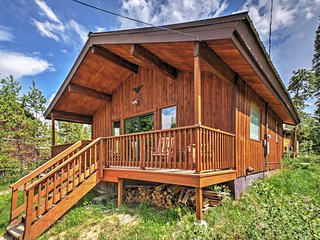 1B Granby Home w/ Private Deck - Near Columbine Lake!