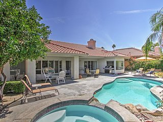3BR Palm Desert Home w/Private Pool & Hot Tub!