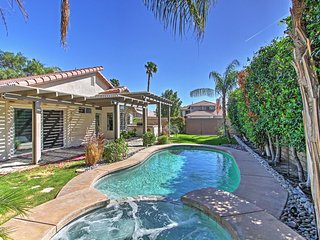 Beautiful 4BR La Quinta Home w/Private Pool, Gas Grill & Pool Table! Prime Location - Only 5 Minutes from Major Golf Courses & 6 Miles from Coachella/Stagecoach Festivals!
