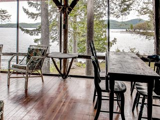 """Bunk House"" Serene 4BR Hague Cottage on Lake George w/Small Beach, Private"